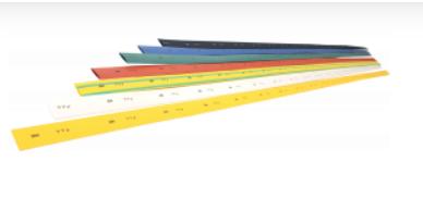 Трубка термоусаживаемая ТТУ 3/1,5 желто-зеленая (1м) IEK - фото 60056