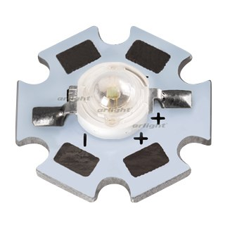Мощный светодиод ARPL-STAR-1W-EPL35 Blue (arlight, Emitter) - фото 60221
