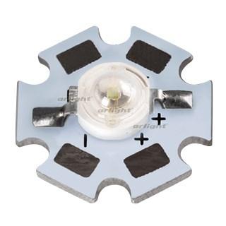 Мощный светодиод ARPL-STAR-3W-GES45 Blue (ARL, Emitter) - фото 60222