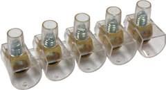 Клеммник концевой изолированный ККИ 6 мм2 (5х1) TDM - фото 60273