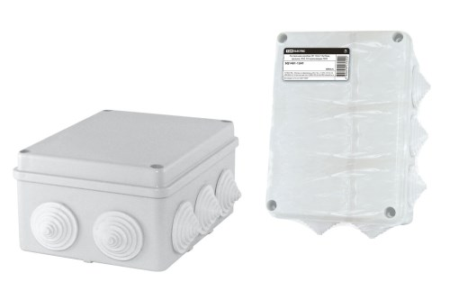 Коробка расп. ОП 150х110х70 IP44 10 вводов (штрихкод) TDM SQ1401-1241 - фото 60333