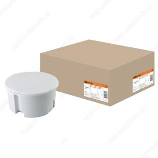 Коробка распр. СП в бетон D80х40 серая TDM SQ1402-1004 - фото 60370