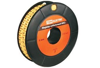 Маркер для кабеля МК1 сечением  2,5мм символ  5   SQ0511-0020  TDM  1000шт. - фото 61165