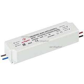 Блок питания ARPV-LV24050-A (24V, 2.0A, 48W) (ARL, IP67 Пластик, 3 года) - фото 61189
