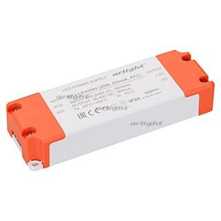 Блок питания ARJ-LE50500 (25W, 500mA, PFC) (ARL, IP20 Пластик, 3 года) - фото 61706