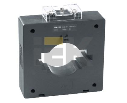 Трансформатор тока ТТИ-100 1500/5А 15ВА класс 0,5 IEK - фото 61880