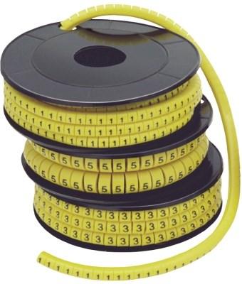 Маркер кабельный МК0- 1,5мм символ  0  (1000шт/упак) IEK - фото 61901