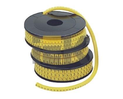 Маркер кабельный МК1- 2,5мм символ  2  (1000шт/упак) IEK - фото 61902