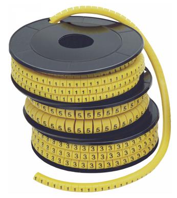 Маркер кабельный МК1- 2,5мм символ  3  (1000шт/упак) IEK - фото 61903
