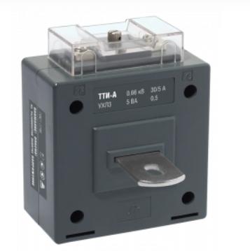 Трансформатор тока ТТИ-А 400/5А 5ВА класс 0,5S IEK - фото 61984