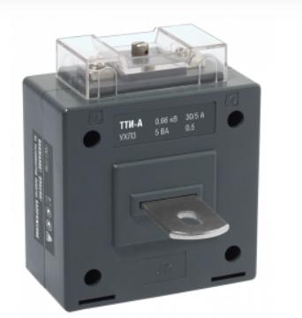 Трансформатор тока ТТИ-А 600/5А 5ВА класс 0,5S IEK - фото 61986