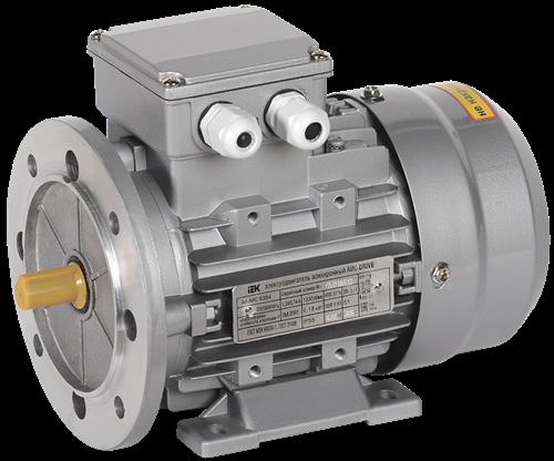Электродвигатель асинхронный трехфазный АИС 63B4 380В 0,18кВт 1500об/мин 2081 DRIVE IEK - фото 62083