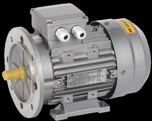 Электродвигатель асинхронный трехфазный АИС 71B4 380В 0,37кВт 1500об/мин 2081 DRIVE IEK - фото 62088