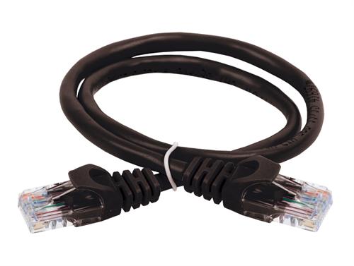 ITK Коммутационный шнур (патч-корд) кат.5E UTP 2м черный - фото 62193