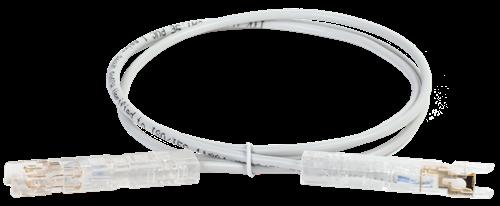 ITK Патч-корд 110-110 2 пары кат.5E 3м серый - фото 62225