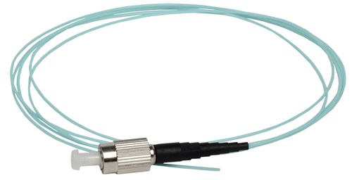 ITK Оптический коммутационный монтажный шнур (пигтеил), (MM), 50/125 (OM3), FC/UPC, LSZH, 1,5м - фото 62232