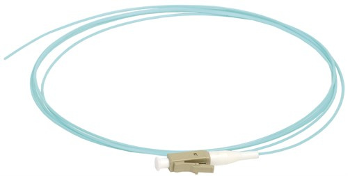 ITK Оптический коммутационный монтажный шнур (пигтеил), (MM), 50/125 (OM3), LC/UPC, LSZH, 1,5м - фото 62233