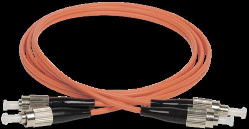 ITK Оптический коммутационный соединительный шнур (патч-корд), MM, 50/125 (OM2), FC/UPC-FC/UPC, (Duplex), 3м - фото 62237
