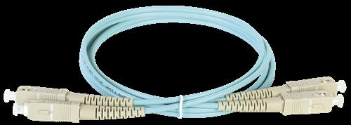 ITK Оптический коммутационный соединительный шнур (патч-корд), MM, 50/125 (OM3), SC/UPC-SC/UPC, (Duplex), 30м - фото 62240