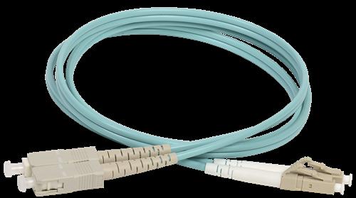 ITK Оптический коммутационный соединительный шнур (патч-корд), MM, 50/125 (OM3), LC/UPC-SC/UPC, (Duplex), 20м - фото 62247