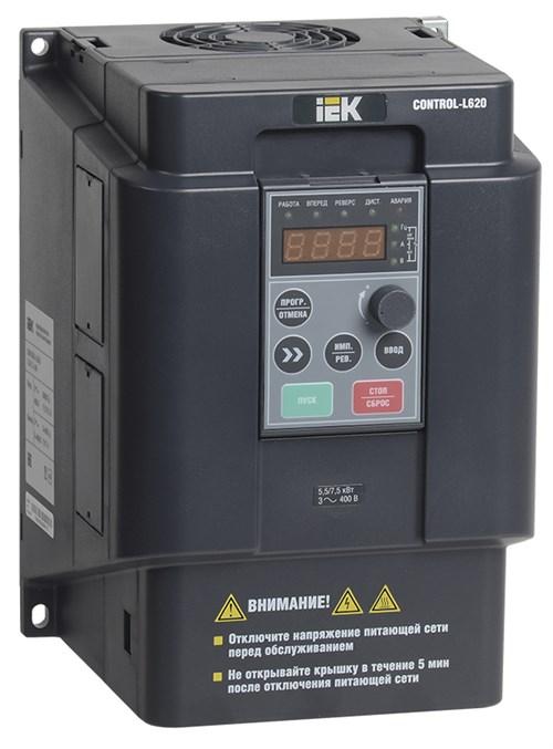 Преобразователь частоты CONTROL-L620 380В 3Ф 4-5,5кВт IEK - фото 62250