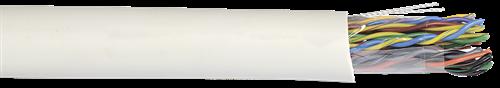 ITK Витая пара F/UTP кат.5E 10х2х24AWG solid PVC серый (500м) - фото 62260