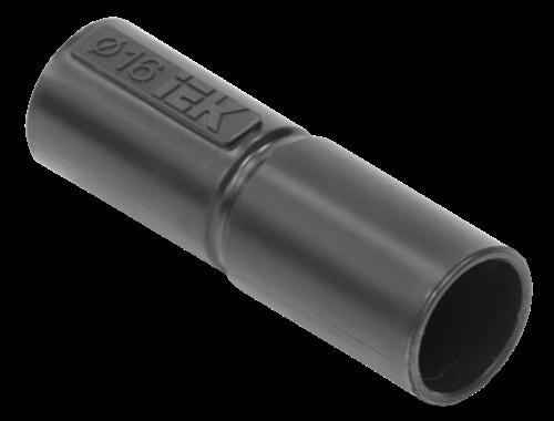 Муфта труба-труба GI16G черная (5шт/компл) IEK - фото 62361