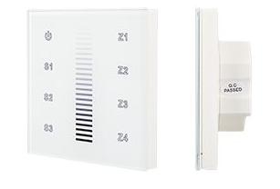 Панель Sens SR-2830A-RF-IN White (220V,DIM,4 зоны) (ARL, IP20 Пластик, 3 года) - фото 62454
