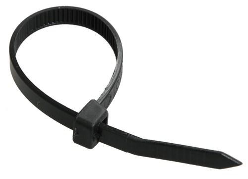Хомут кабельный Хкн 2,5х150мм нейлон черный (100шт) IEK - фото 62664