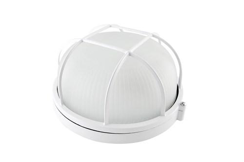 НПБ1302 белый/круг с реш. 60Вт IP54 TDM - фото 62737