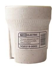 Патрон E14 керамический (контакты медь, гильза медь)  TDM - фото 62770