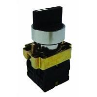 Арм. светосигн. BD33 переключатель черный 3 положения I-0-II стандарт. ручка 1з+1з TDM - фото 63267