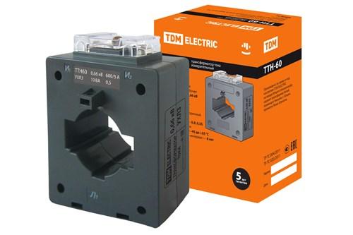 TDM Трансформатор тока измерительный ТТН  60/ 600/5-10VA/0,5 - фото 63364