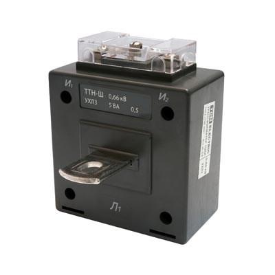 Трансформатор тока  TDM  ТТН-Ш 500/5   5ВА  кл. точн. 0,5 SQ1101-0020 - фото 63372
