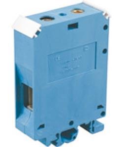 Зажим наборный ЗНИ-16 100A DIN JXB синий TDM - фото 63514