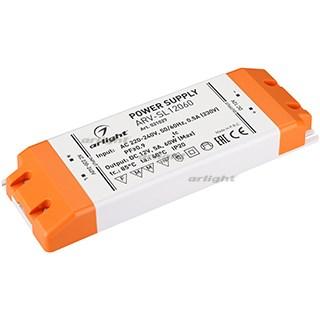 Блок питания ARV-SL12060 (12V, 5A, 60W, PFC) (ARL, IP20 Пластик, 3 года) - фото 64150