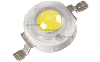 Мощный светодиод ARPL-3W-BCX45HB White (ARL, Металл) - фото 64167