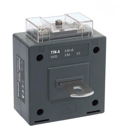 Трансформатор тока ТТИ-А 60/5А 5ВА класс 0,5 IEK - фото 64618