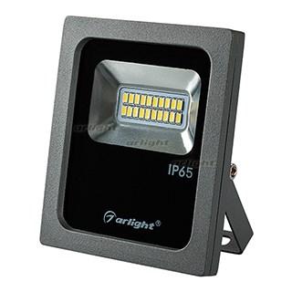 Светодиодный прожектор AR-FLG-FLAT-10W-220V White (ARL, Закрытый) - фото 64720