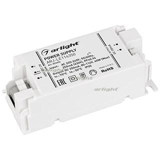 Блок питания ARJ-LE114350 (40W, 350mA, PFC) (ARL, IP20 Пластик, 3 года) - фото 65849