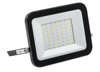 Прожектор светодиодный СДО 06-50 IP65 6500K черный IEK - фото 65908