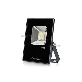Светодиодный прожектор AR-FLAT-ICE-10W-220V White (Black, 120 deg) (ARL, Закрытый) - фото 66126