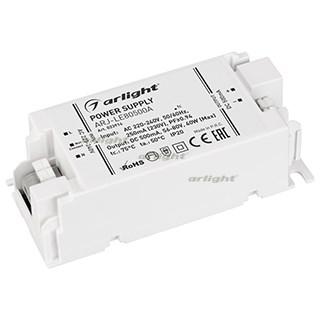 Блок питания ARJ-LE80500A (40W, 500mA, PFC) (ARL, IP20 Пластик, 3 года) - фото 66193
