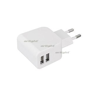 Блок питания ARDV-16-5V-USB DUO (5V, 3.1A, 16W, White) (ARL, Адаптер) - фото 66322