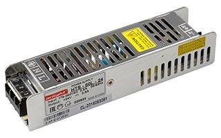Блок питания HTS-60L-24 (24V, 2.5A, 60W) (ARL, IP20 Сетка, 3 года) - фото 66394