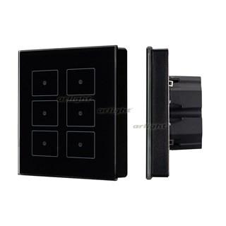 Панель Sens SR-KN0611-IN Black (KNX, DIM) (ARL, -) - фото 98705