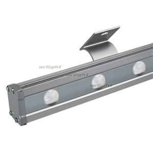 Светодиодный прожектор AR-LINE-1000L-48W-24V RGB-Warm3000 (Grey, 15x45 deg, DMX512) (ARL, Закрытый)