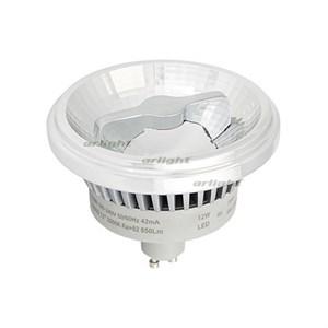Лампа AR111-FORT-GU10-12W-DIM Warm3000 (Reflector, 24 deg, 230V) (ARL, Металл)