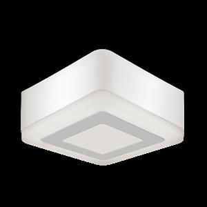 Светильник Gauss Backlight накладной квадрат 3+3W 350lm 3000K 220-240V 105*105*40мм 3 режим LED 1/40