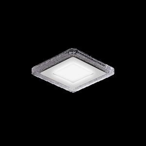 Светильник Gauss Bubbles BL321 Квадр. 3+3W, LED 4000K, 350лм,103x103мм, Ø80 1/40 Gauss